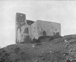 Fortín de Sant Pere Màrtir a principios del siglo XX. Fuente: Arxiu historic d'Esplugues de Llobregat.