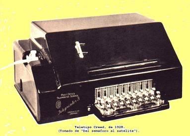 Tercera etapa: Teleimpresores. Creed 3