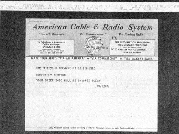 Telegrama y secuencia Morse