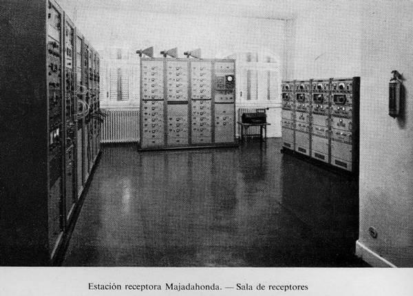 Sala de receptores. Estación de Majadahonda (Madrid)