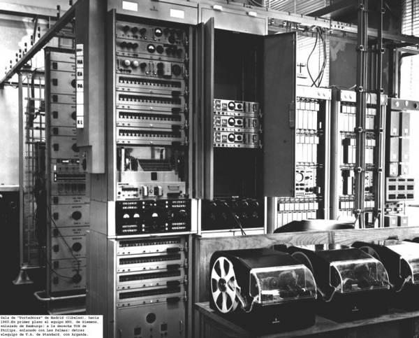 Télex. Equipos de transmisión MUX y TOR