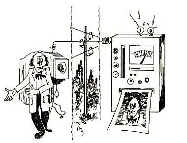 1907 Belin construye un aparato para transmitir imágenes a través de líneas telegráficas Philippe Constantin (