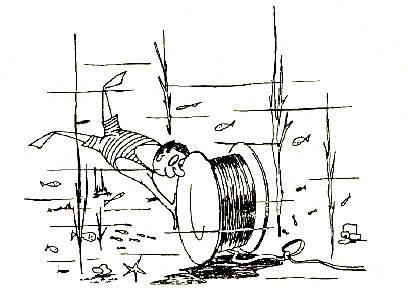 1921 Se tiende el primer calble coaxial de larga distancia entre Florida y Cuba Philippe Constantin (