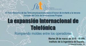 La expansión internacional de Telefónica