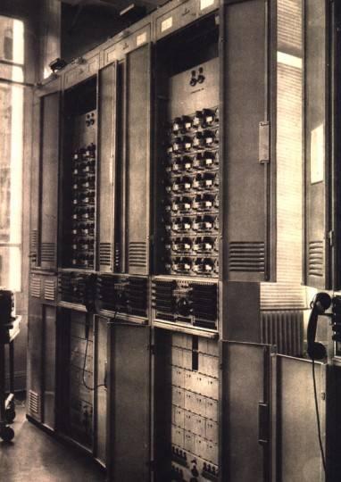 Bastidores para telegrafía armónica
