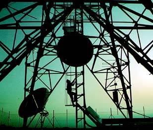 Estructura soporte de antena sin identificar