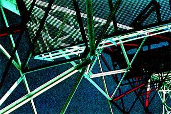 Estructura de antena sin identificar