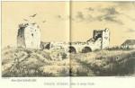 El puente romano de Las Alcantarillas, con sus dos torres.