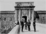 Puerta principal del Castillo antes de su destrucción en 1939. Créditos fotografía: Consorci Castell de San Ferran