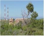 Posibles restos de la torre. Imágen cedida por Aula Militar Bermúdez de Castro