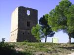 La torre en 2005, antes de su restauración. Fotografía: Emilio Borque.