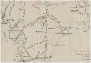 Detalle de minuta de Muñopedro de 1906. Fuente: IGN.
