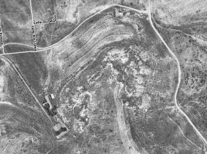 Fotografia aérea 1975. Fuente: Comunidad de Madrid