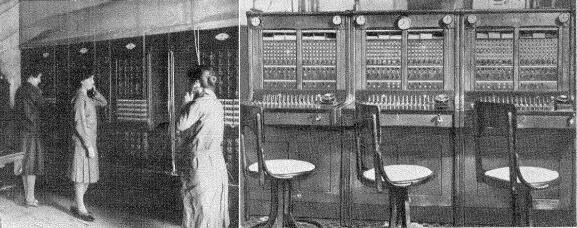 España. En 1924 se requerían 3 operadoras por cada 100 abonados, en 1944 cada operadora puede controlar los mismos abonados