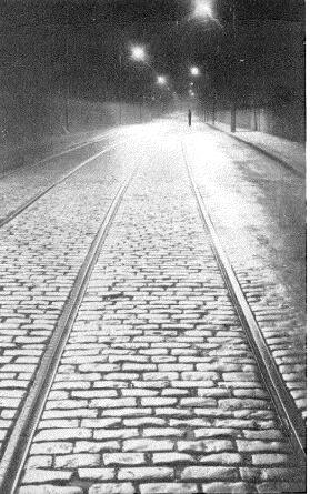 Sección de alumbrado controlado por control remoto en Bingley (Inglaterra). Agosto 1938