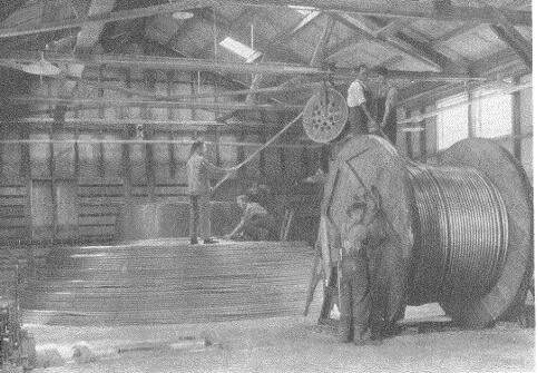 Preparación de un cable submarino