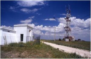 Aspecto actual del paraje donde se situaría la torre. Jesús López Requena.