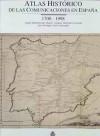 Atlas histórico de las comunicaciones en España 1700-1998