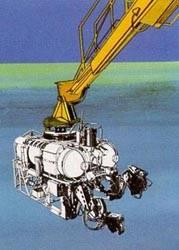 Robot sumergible