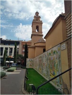 Aspecto actual del campanario de la iglesia de Sant Vicenç Ferrer. Fotografía: Emilio Borque.