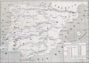 Consideraciones sobre las líneas telegráficas y telefónicas en España