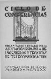 Ciclo de conferencias 1930