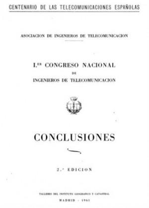I Congreso Nacional de Ingenieros de Telecomunicación. Conclusiones