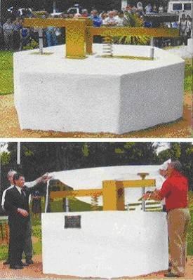 Monumento argentino a los Radioaficionados del mundo