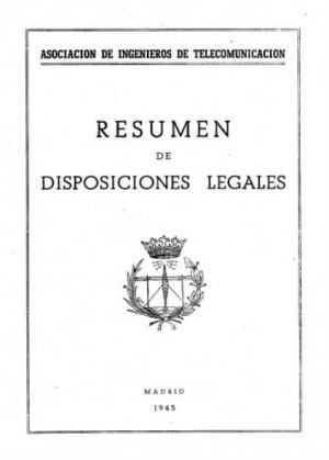 Resumen de las disposiciones legales de la AEIT