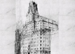 The new Madrid telephone building