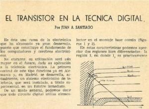 El transistor en la técnica digital