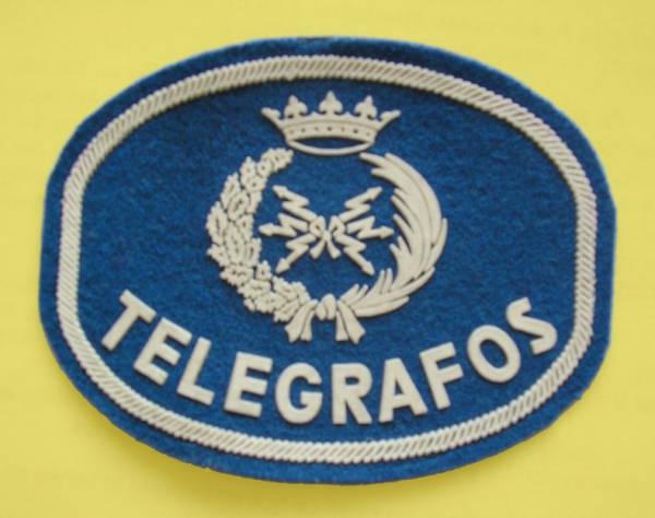 Emblema del Uniforme del Cuerpo de Telégrafos