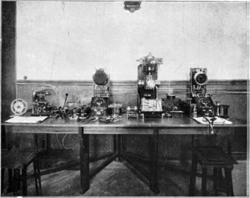 Estación de Radio de Carabanchel. TELEFUNKEN ZEITUNG, Nº 6 Junio 1912