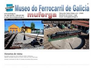 Museo del Ferrocarril de Galicia. Monforte de Lemos (Lugo)