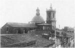 Imagen de la iglesia de Nules antes de su destrucción.