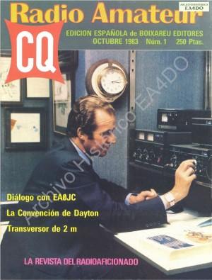 Diálogo sobre el mundo de la radioafición con un interlocutor ilustre