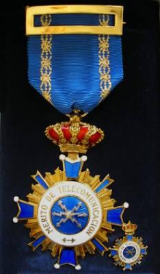 Medalla al mérito de la Telecomunicación