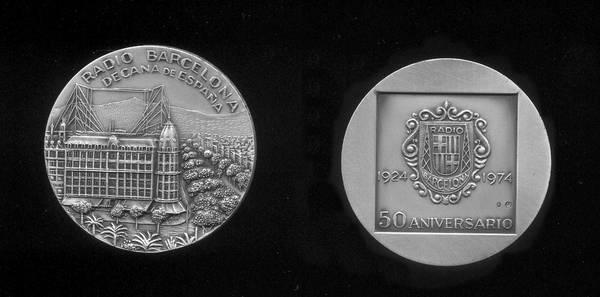 Medalla de Plata de los 50 años de Radio Barcelona
