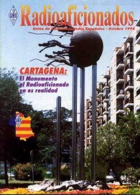 Monumento al Radioaficionado en Cartagena
