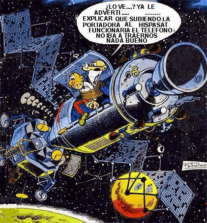 Mortadelo y Filemón y el satélite