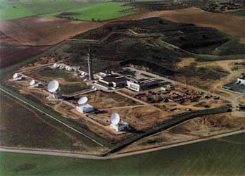 Estación terrena de satélites para el sistema Eutelsat (Armuña de Tajuña, Guadalajara).