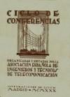 Ciclo de conferencias organizadas y editadas por la Asociación Española de Ingenieros y Técnicos de Telecomunicación