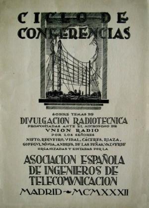 Ciclo de conferencias sobre temas de divulgación radiotécnica