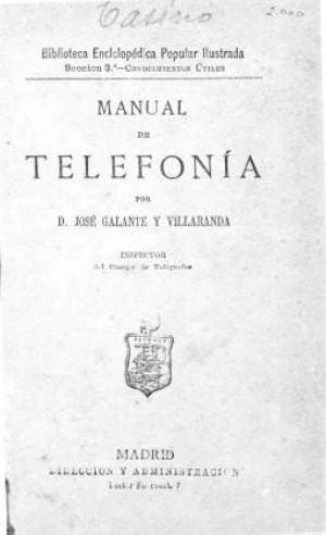 Manual de telefonía