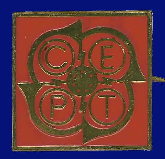 Pin conmemorativo Conferencia Europea Postal y Telegráfica
