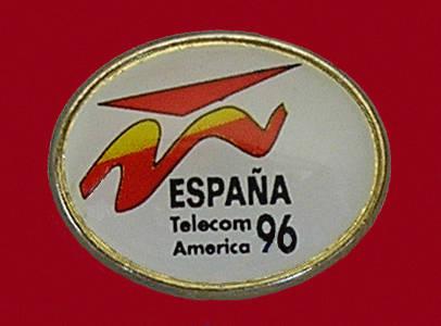 Pin de Telecom España 1996