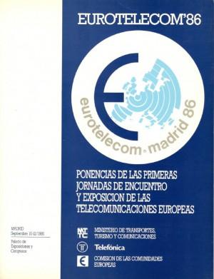 Ponencias Eurotelecom Madrid 86