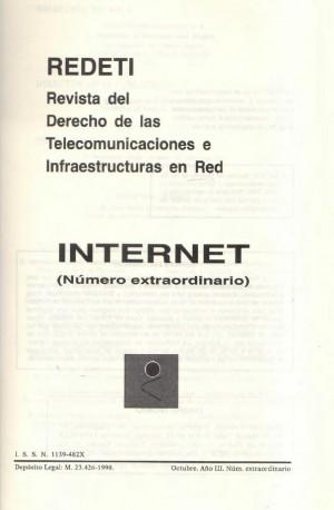 Revista del Derecho de las Telecomunicaciones e Infraestructuras en Red