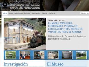 Museo Vasco del Ferrocarril. Azpeitia. (Guipuzcoa)