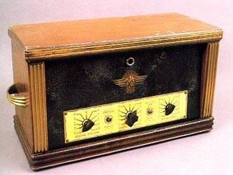 Amplificador de cuatro válvulas, de 1925.